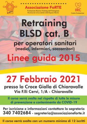 Retraining Blsd 27 Febbraio 2021